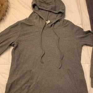 Cozy Thermal Hooded Long Sleeve Top